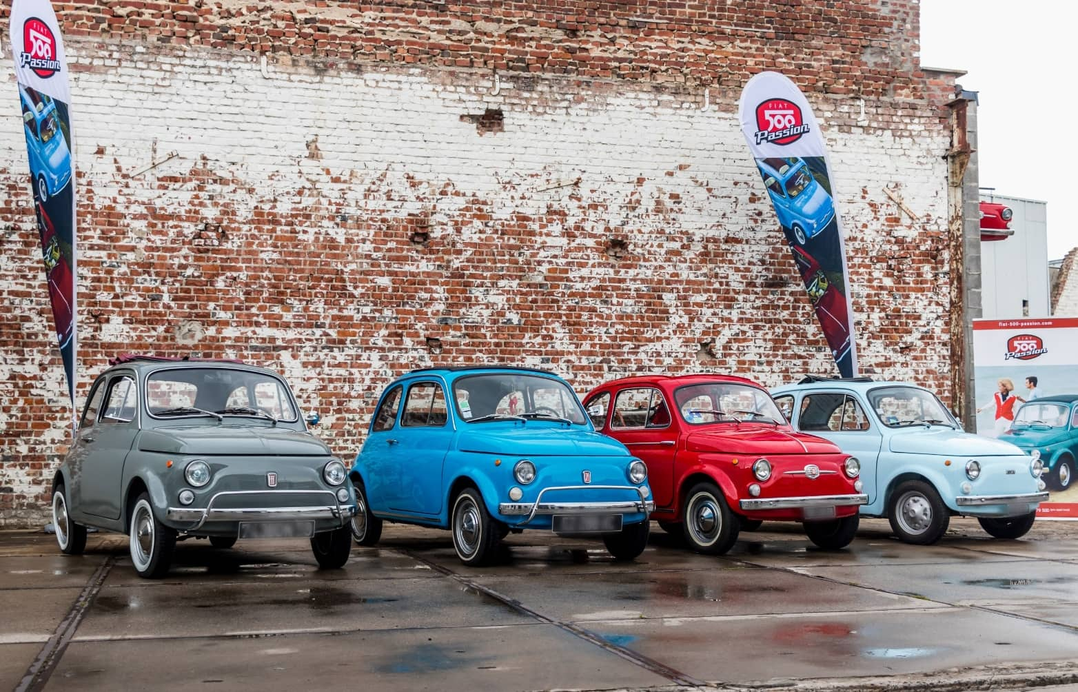 Fiat 500 Passion exposition