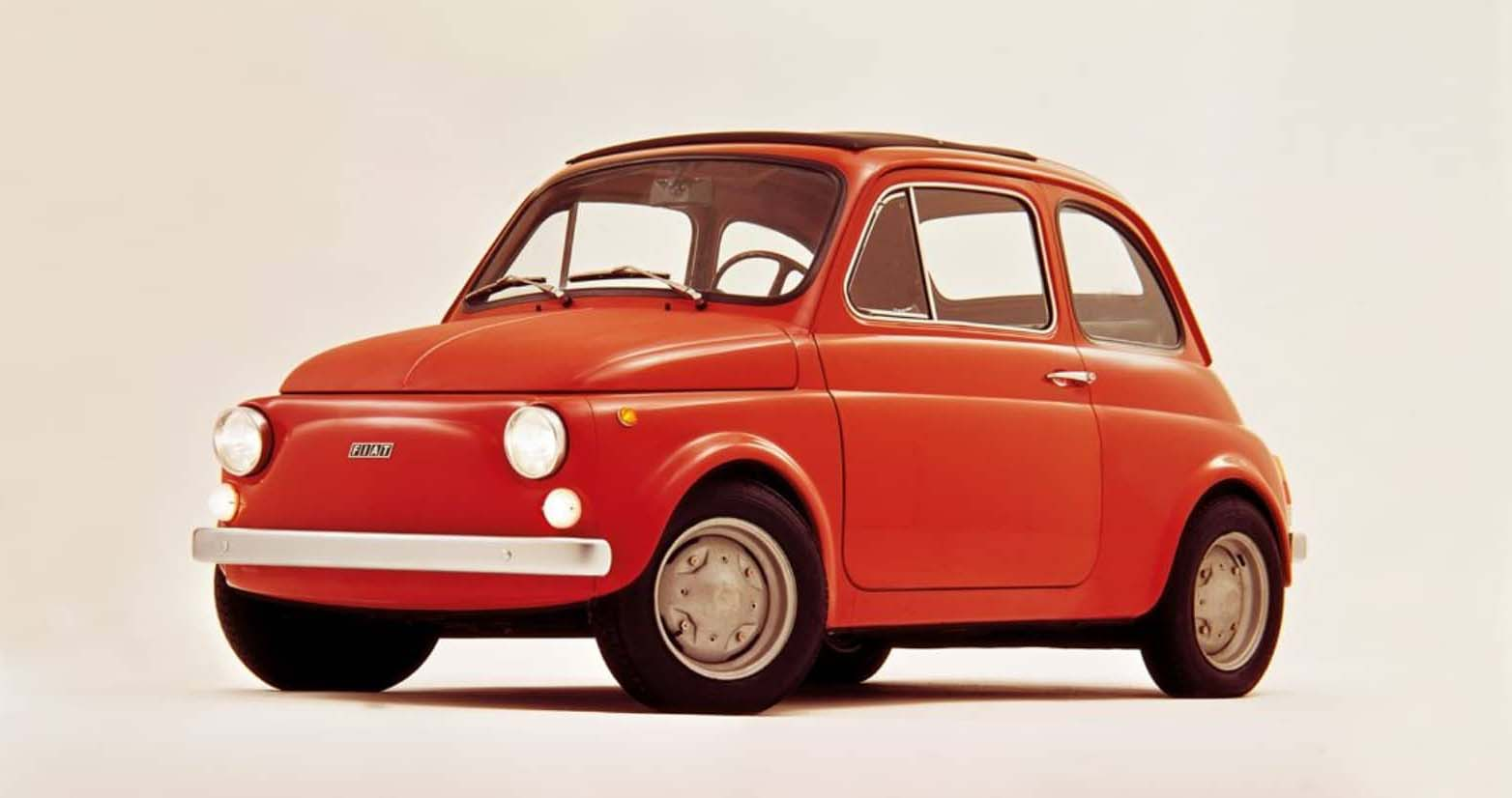 Fiat 500 rouge remise à neuf